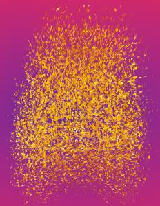 Waldemar Mattis-Teutsch - Laburnum, Lenticular Image, W:100 cm x H:150 cm, 2017