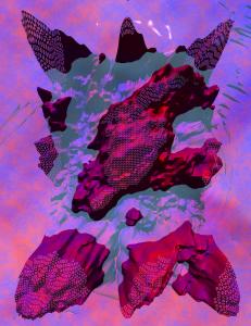 Waldemar Mattis-Teutsch - Ocean, Lenticular Image, W:100 cm x H:150 cm, 2017